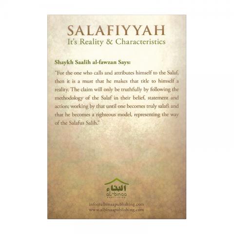 salafiyyah-its-reality-achter