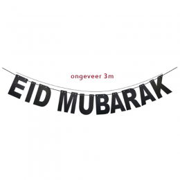 eid-mubarak-slinger-zwart