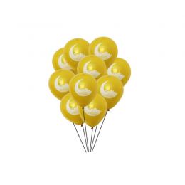 ballon-zwart-binnen-goud